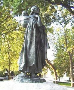 Sacagawea and Jean-Baptiste Charbonneau
