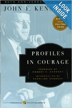 Profiles in Courage by John F. Kennedy hardcover and paperback from Amazon
